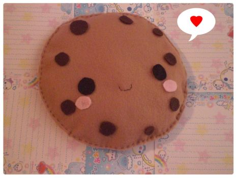 Large Cookie Plush by pullmeoutalive