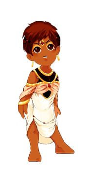 Egyptian babe by Chiriel