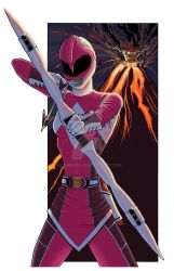 Pink Ranger Mighty Morphin by MCarmean