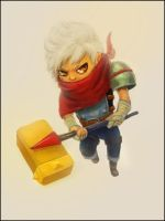 Bastion - Kid by Lestowitel