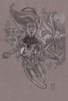 Phoenix Sketch NYCC 10 by StephaneRoux
