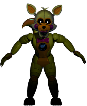 'Funtime' Lolbit full body (RECOLOR EDIT) by JoltGametravel