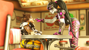 OW | Don't make me angry | WidowTracer by karinscr