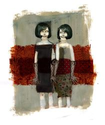Lisa and Lina by mathilde