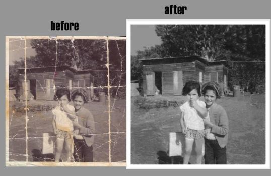 Photo Restoration by cirexart