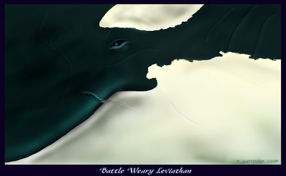 Battle Weary Leviathan by SyKoticOrKa