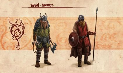 Viking guards by Chawes-the-maniac
