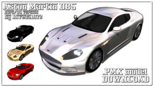 [MMD] Aston Martin DBS (PMX Download) by Riveda1972