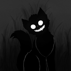 Darkness Cat by lifewatery