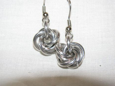 Mobius Earrings by FeltTeeth