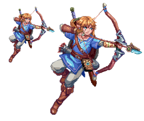 Breath of the Wild Link by Velurie