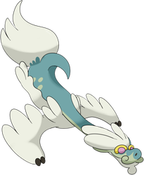 Pokemon Sun and Moon - Drampa by darside34