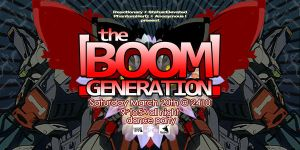 Boom Generation flyer Aries by penpointred