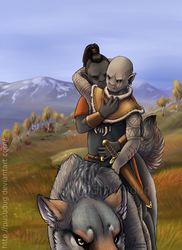 Warg Ride by Pushdug