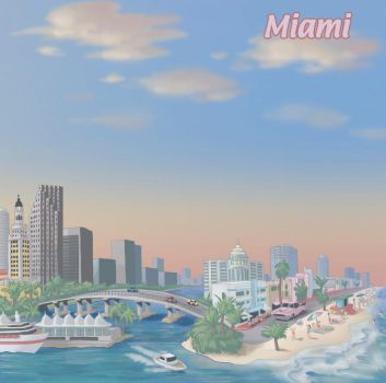 Miami by discogangsta