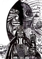 Darth Vader Ink by nic011