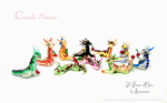 Cupcake Dragons by rosepeonie