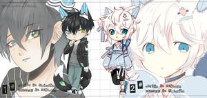 [AUCTION*CLOSED]Lineheart*51[COLLAB EDITION] by Relxion-kun