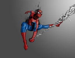 Spiderman 2 by jakeandersonstudio