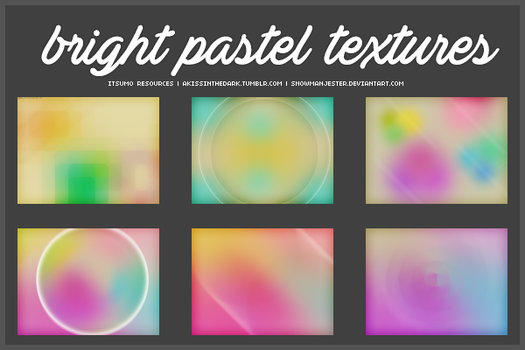 Pastel Texture Pack by snowmanjester