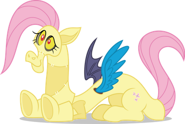 Vector #714 - Discord's Fluttershy Cosplay by DashieSparkle