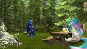 Royal picnic by apexpredator923