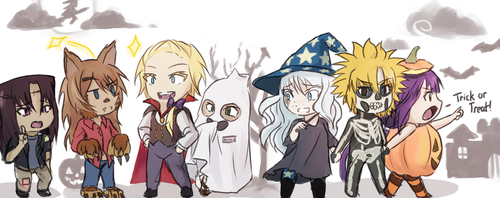 Halloween 2017 by elpisofhope