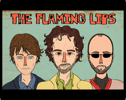 The Flaming Lips by Scout-Finch