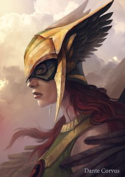 Hawkgirl by DanteCyberMan