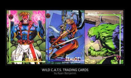 Old WildCATS Trading Card by ryanbnjmn