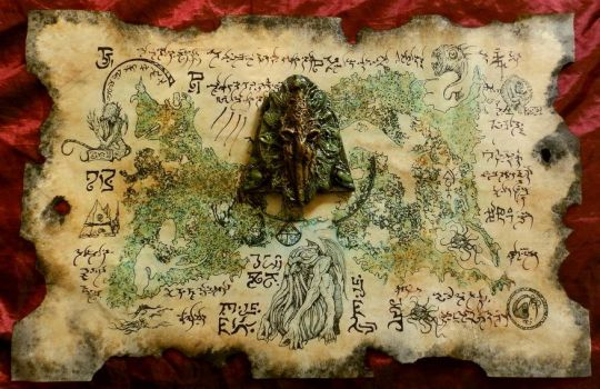 Rlyeh Artifact by MrZarono