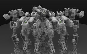 Protector V.01 Mech by C91