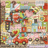 [SHARE RES] Scrap - Beeping In Style by GenieDyo