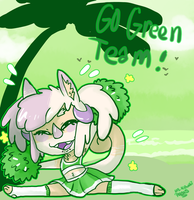 Go green (Bonus event Cheer) by MsKawaiiPants