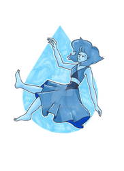 Lapis and Her Gem by olivia808