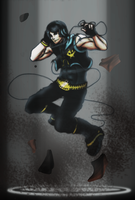 Ninjago: VOCALOID Cole by witch-girl-pilar