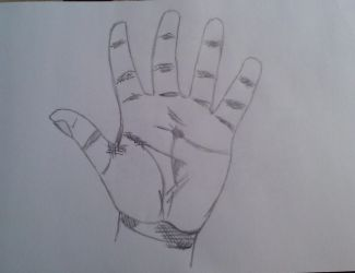 Hand by SketchTon