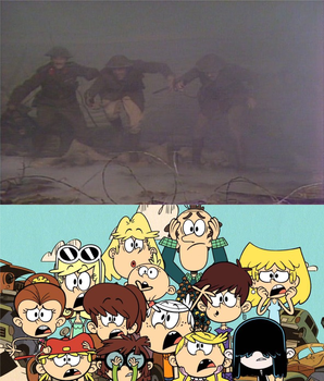 Loud Family React to Blackadder's Death in the War by JamesTheBrony92