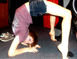 contortion by HeartRateRed