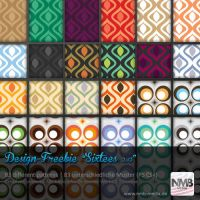 83 Pattern Styles - 1960's Wallpaper Design by Hexe78