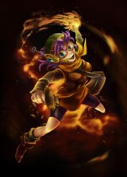 Lucca: Fire! by Cronoan