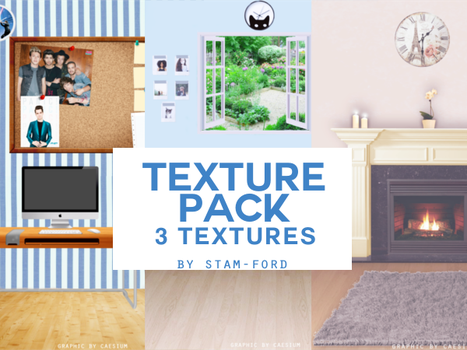 Texture Pack 01 by stam-ford