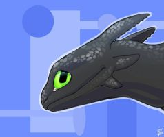 Toothless by SinalaNF