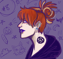 Witchy Art Challenge: 08 by themandii
