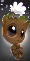 Baby Groot by Pheoniic
