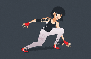 Mirror's Edge by whizzbangwallop