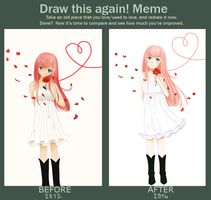 Draw this again! by yachidere