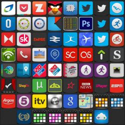 Jaku Icon Pack (62 Icons) - Updated - 19/06/2012 by parry