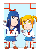 Chibi Pop team epic by KaenBlue