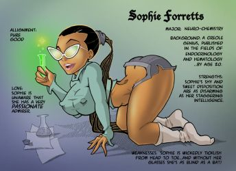BUMP IN THE NIGHT #1 SOPHIE by MTJpub